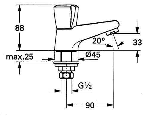 plomberie berthelot paris gamme adria robinet simple adria de chez grohe. Black Bedroom Furniture Sets. Home Design Ideas